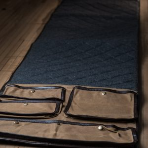 Sage and Braker – Waxed Canvas Gun Cleaning Mat
